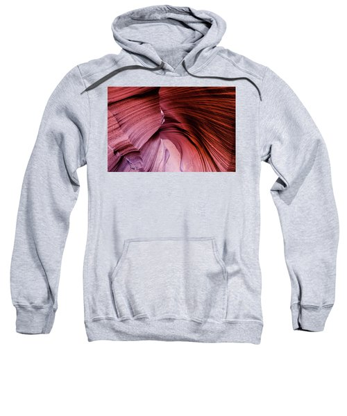 Sweatshirt featuring the photograph Follow The Curves by Stephen Holst