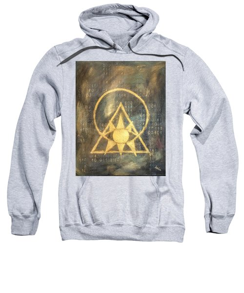 Follow The Light - Illuminati And Binary Sweatshirt