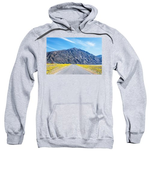Follow The Yellow Lined Road Sweatshirt