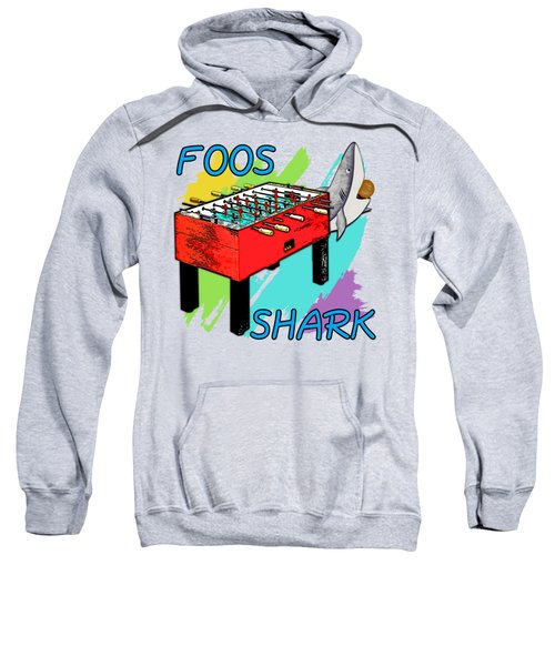 Foos Shark Sweatshirt by David G Paul