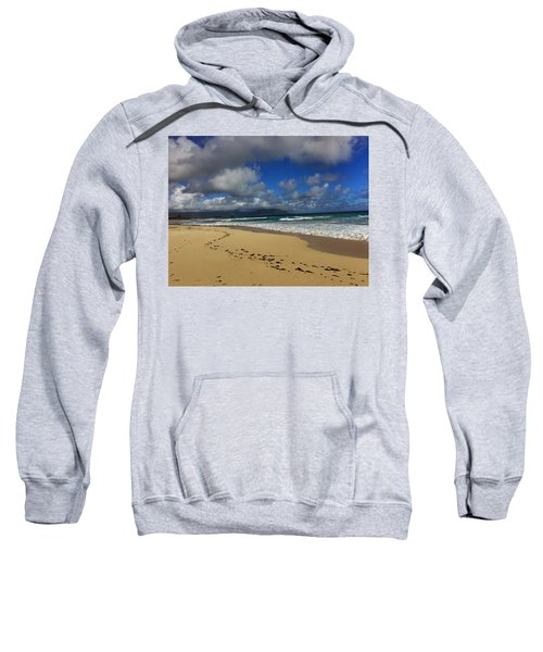 Footprints Sweatshirt