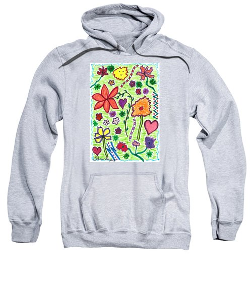 For The Love Of Flowers Sweatshirt