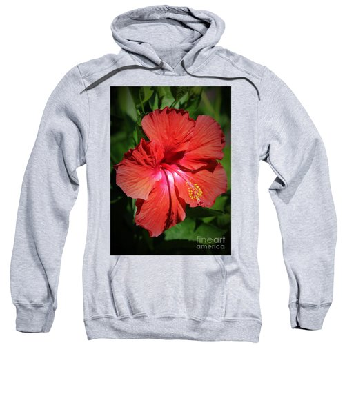 For The Love Of Hibiscus Sweatshirt
