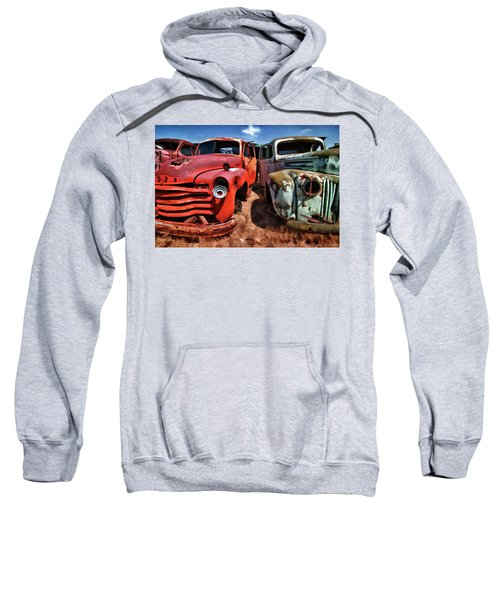 Ford And Chevy Standoff Sweatshirt