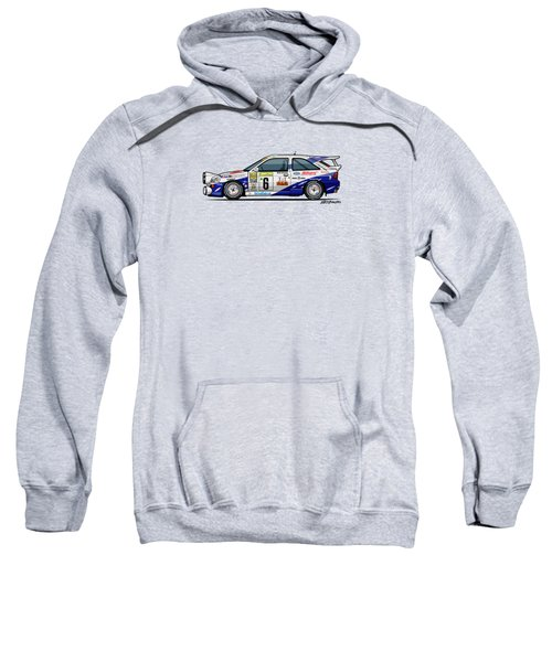 Ford Escort Mk5 Rs Cosworth Group A Rally Monte Carlo 1994 Sweatshirt
