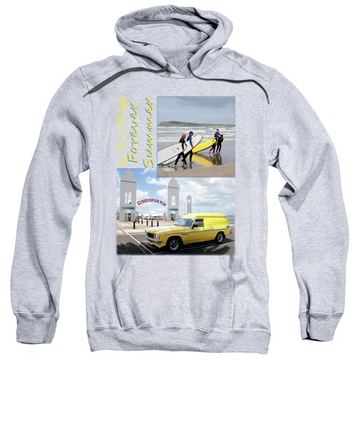 Sweatshirt featuring the photograph Forever Summer 6 by Linda Lees