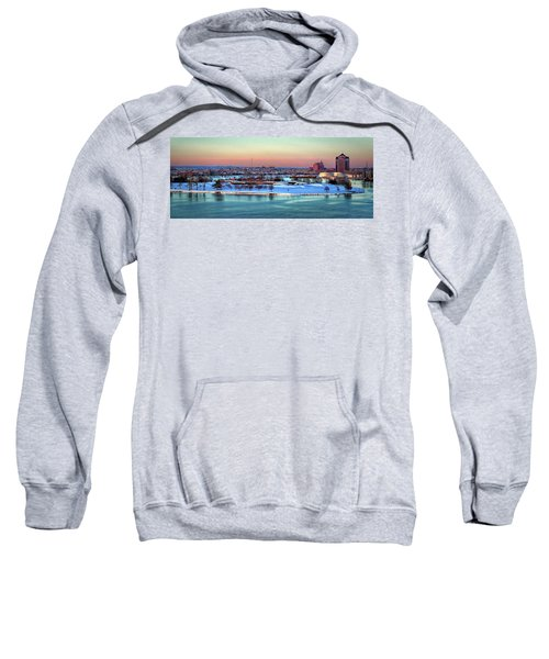 Fort Mchenry Shrouded In Snow Sweatshirt