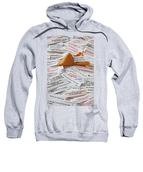 Fortune Cookie Sayings  Sweatshirt