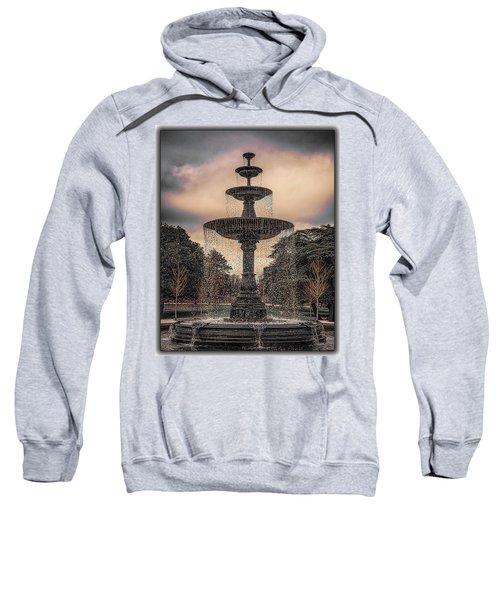 Fountain At Sunset Sweatshirt