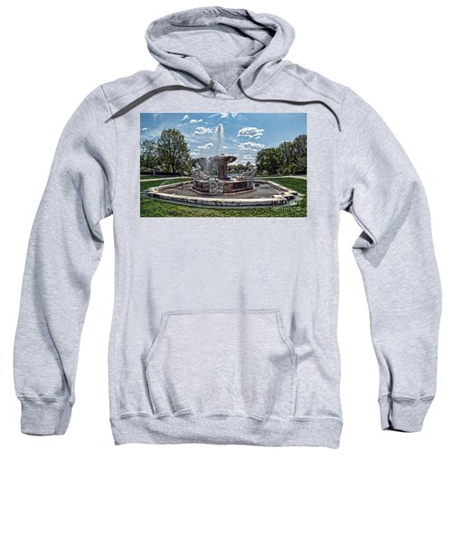 Fountain - Cleveland Museum Of Art Sweatshirt