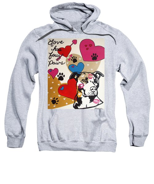 Four Pitty Paws Sweatshirt