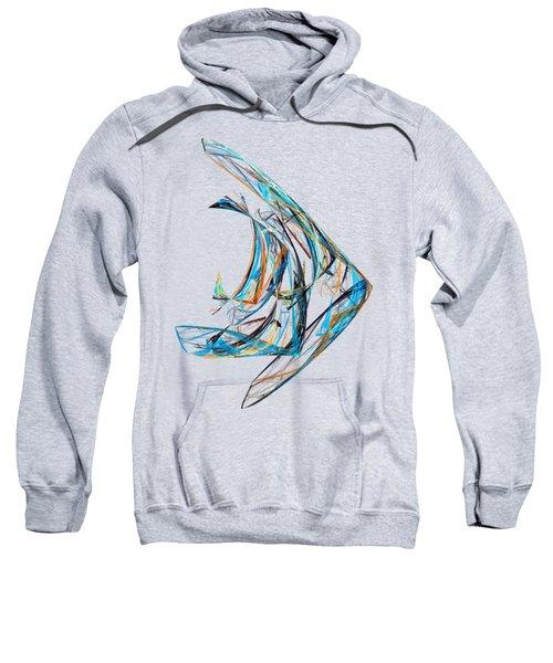 Fractal - Angelfish Sweatshirt
