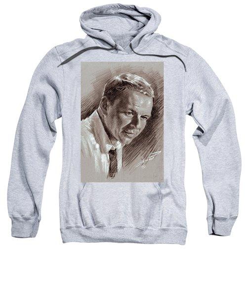 Frank Sinatra  Sweatshirt by Ylli Haruni