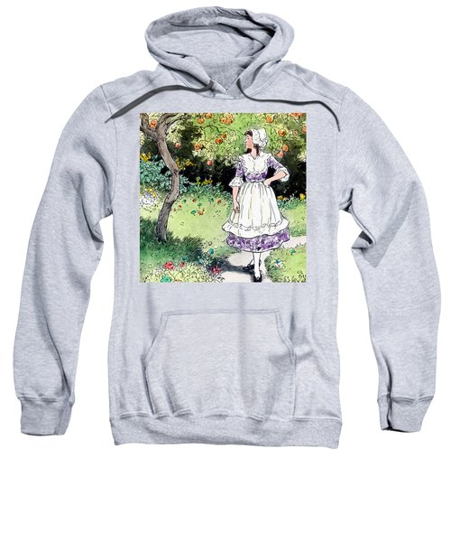 Frau Holle Also Known As Mother Holle Or Old Mother Frost Sweatshirt