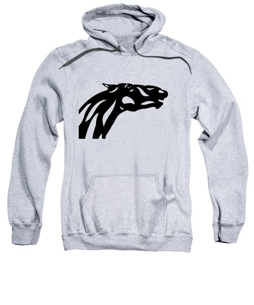 Fred - Abstract Horse Sweatshirt