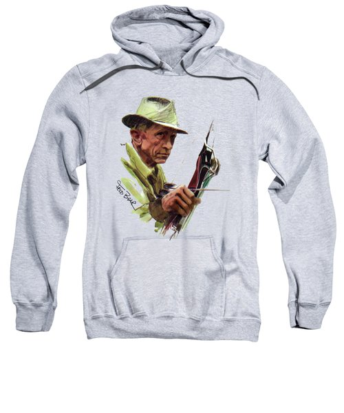 Fred Bear Archery Hunting Bow Arrow Sport Target Sweatshirt