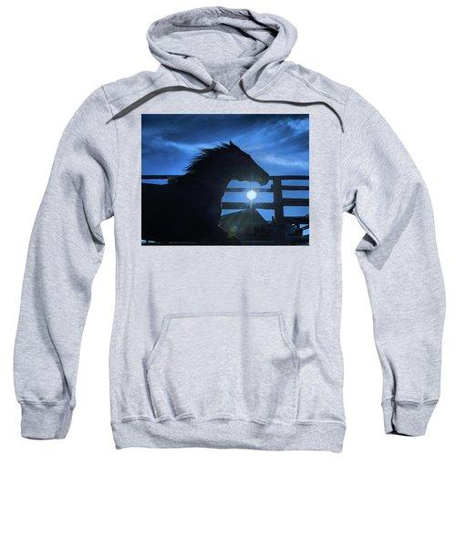 Free Spirit Horse Sweatshirt