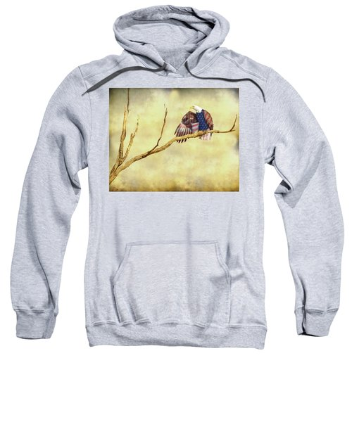 Sweatshirt featuring the photograph Freedom by James BO Insogna