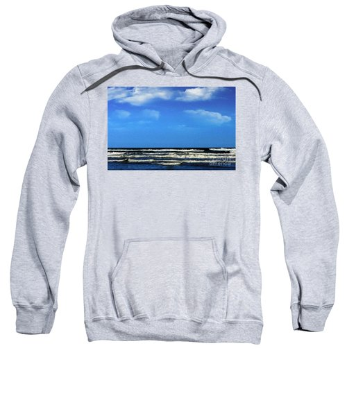 Freeport Texas Seascape Digital Painting A51517 Sweatshirt