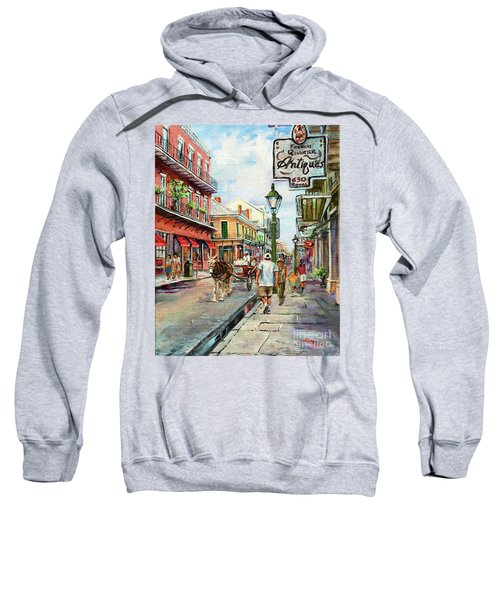 French Quarter Antiques Sweatshirt