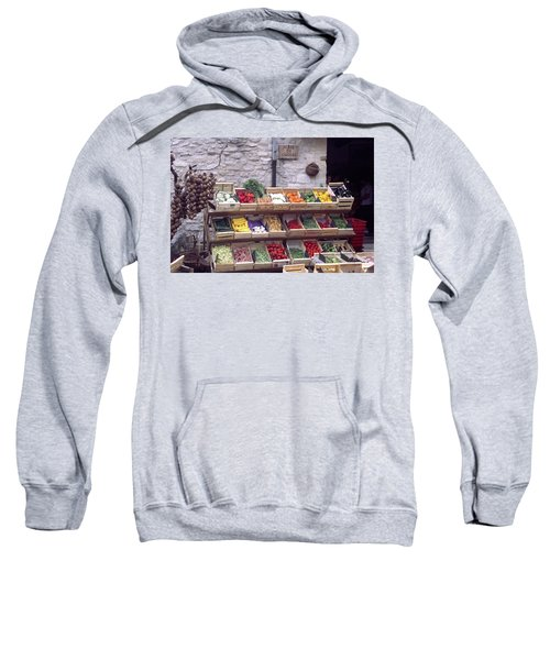 French Vegetable Stand Sweatshirt