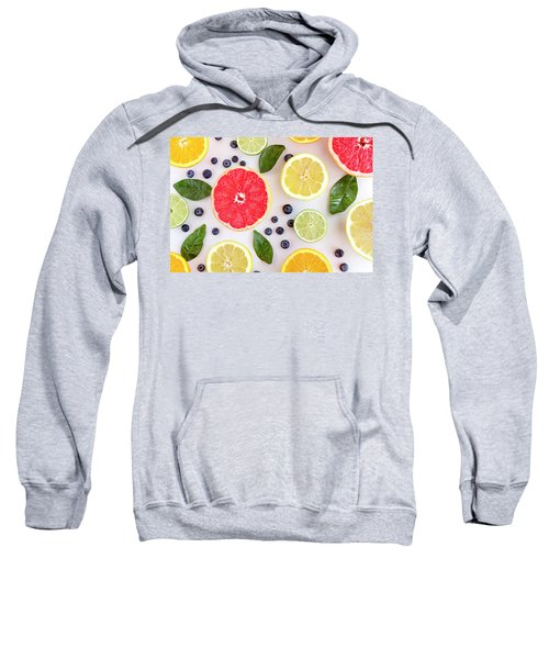Fresh Citrus Fruits Sweatshirt