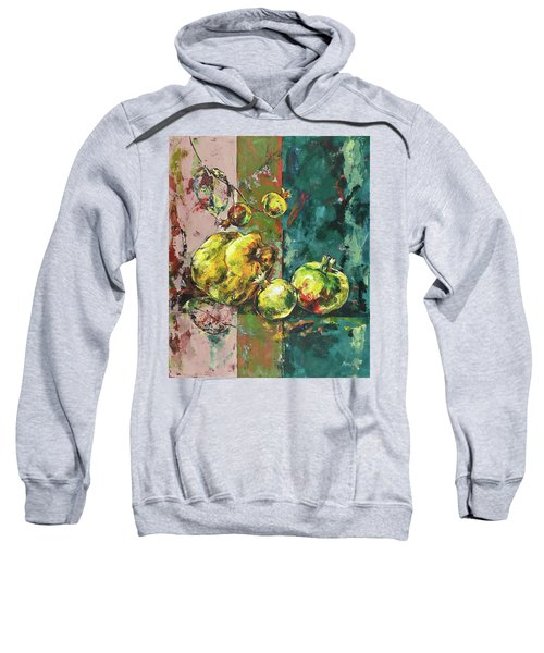 Fresh Quince And Pomegranate Sweatshirt