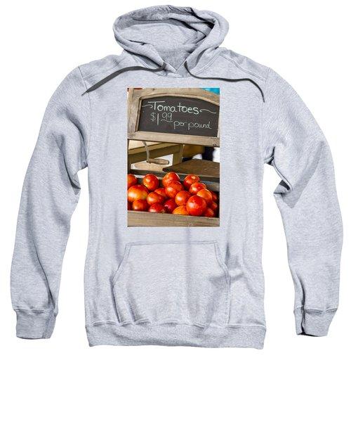 Fresh The Garden Tomatoes Sweatshirt