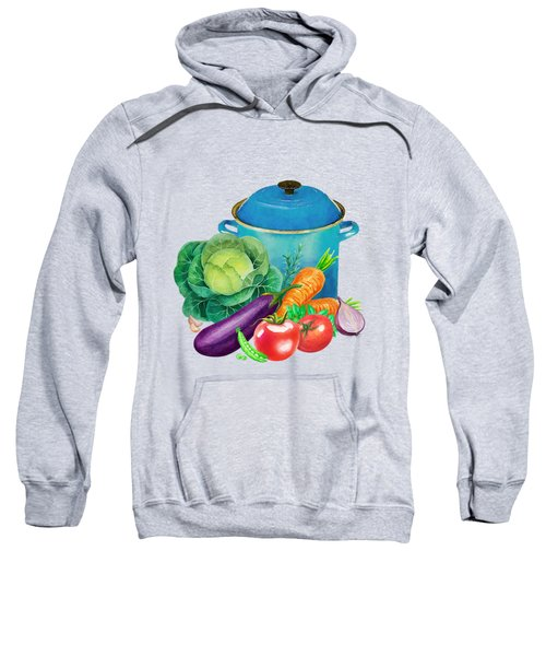 Fresh Vegetable Bounty Sweatshirt by Little Bunny Sunshine