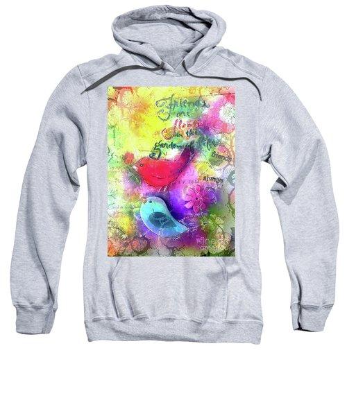Friends Always Sweatshirt by Claire Bull