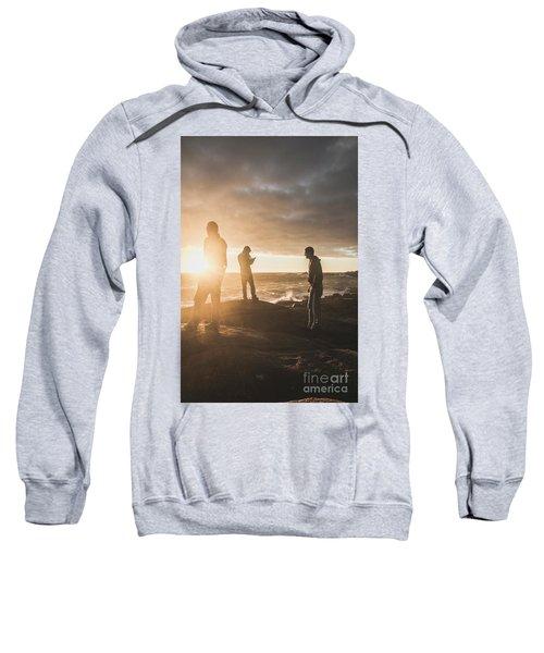 Friends On Sunset Sweatshirt