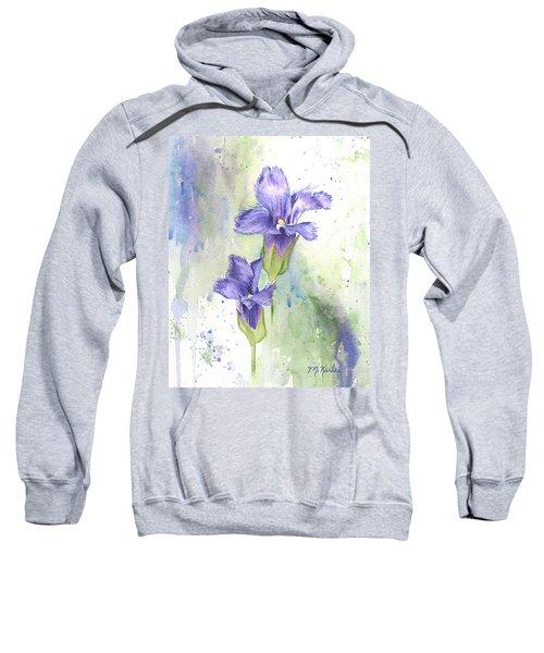 Fringed Gentian Sweatshirt