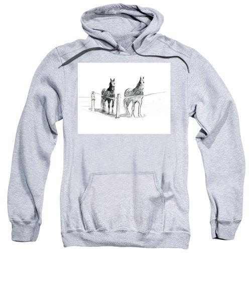 Friesian Horses Sweatshirt
