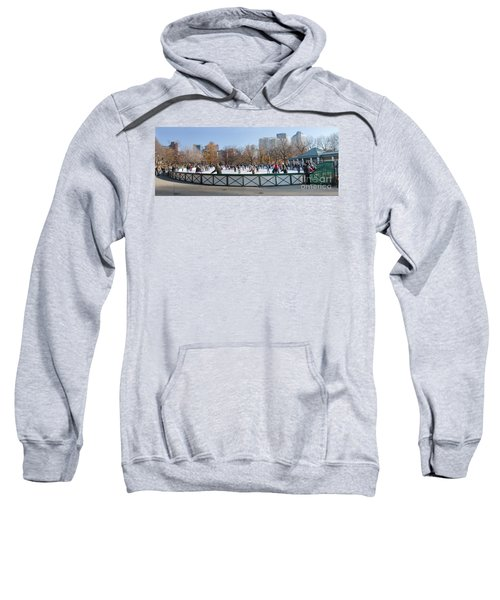 Frog Pond Skating Rink Boston Common Sweatshirt