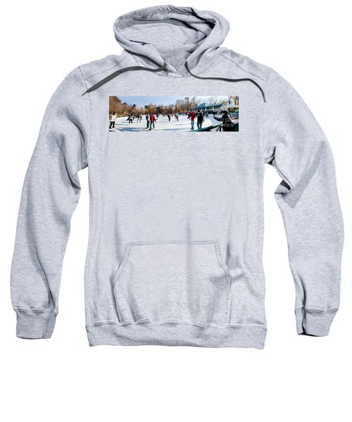 Frog Pond Skating Rink Boston Sweatshirt