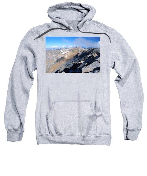From Atop Mount Massive Sweatshirt