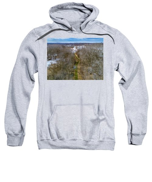 From Woods To Snow Sweatshirt