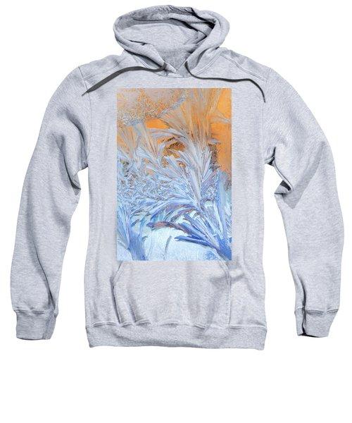 Frost Patterns On Window Sweatshirt