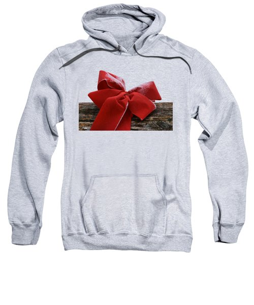 Frosted Bow Sweatshirt