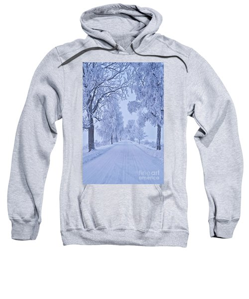 Frosted Trees Sweatshirt