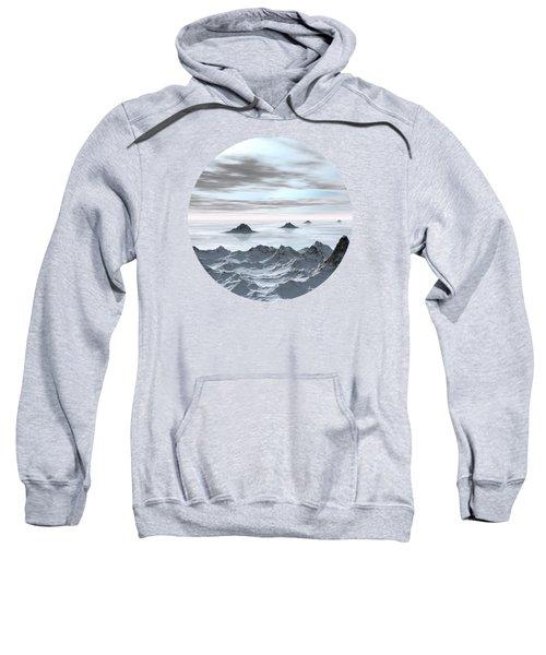 Frozen Arctic Sea Sweatshirt