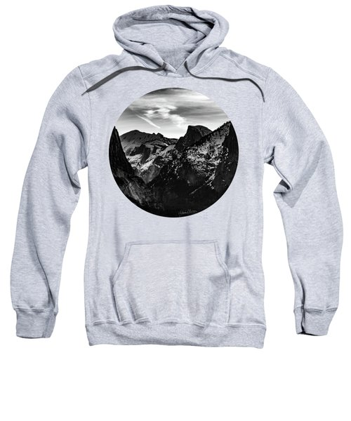 Frozen, Black And White Sweatshirt by Adam Morsa