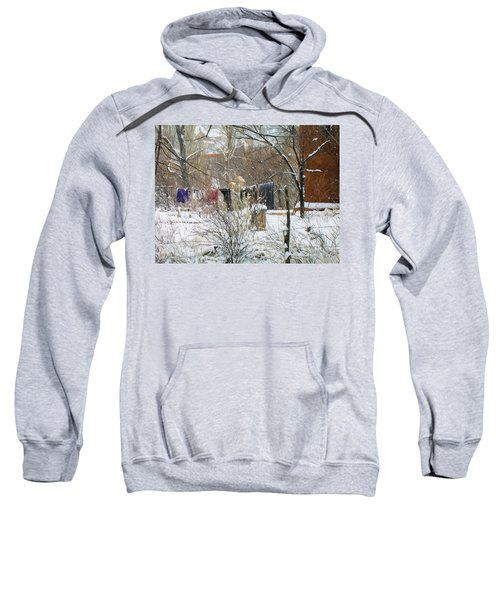 Frozen Laundry Sweatshirt