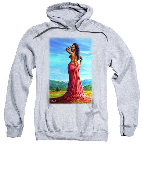 Summer Blossom Sweatshirt