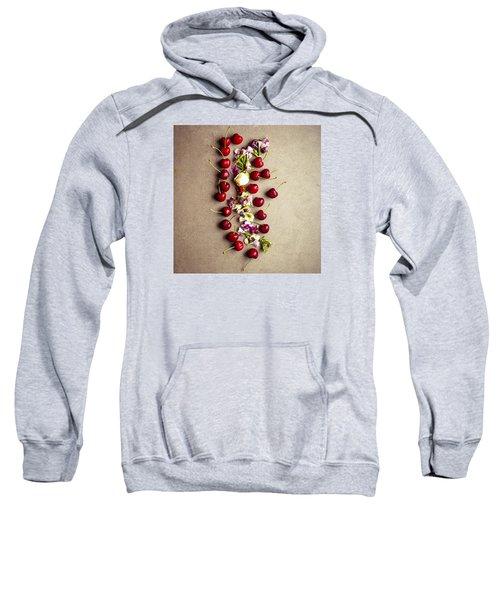 Fruit Art Sweatshirt by Nicole English
