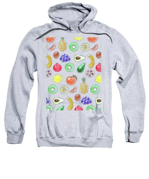 Fruit Pattern  Sweatshirt