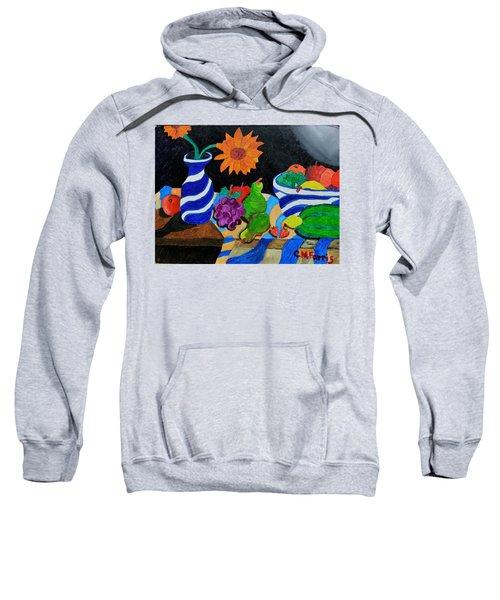 Fruitful Still Life Sweatshirt
