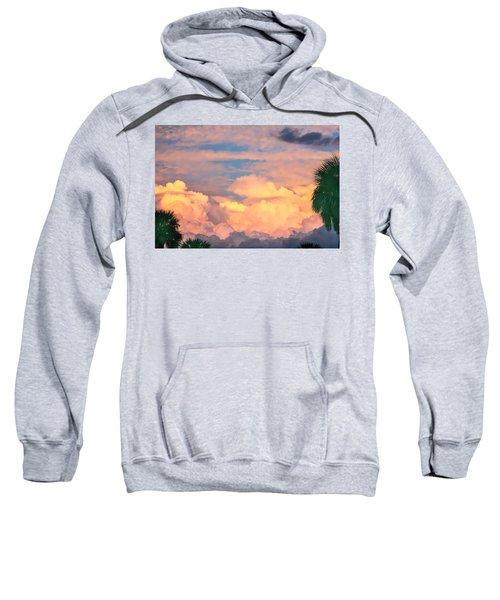 Ft De Soto Sunset Clouds Sweatshirt