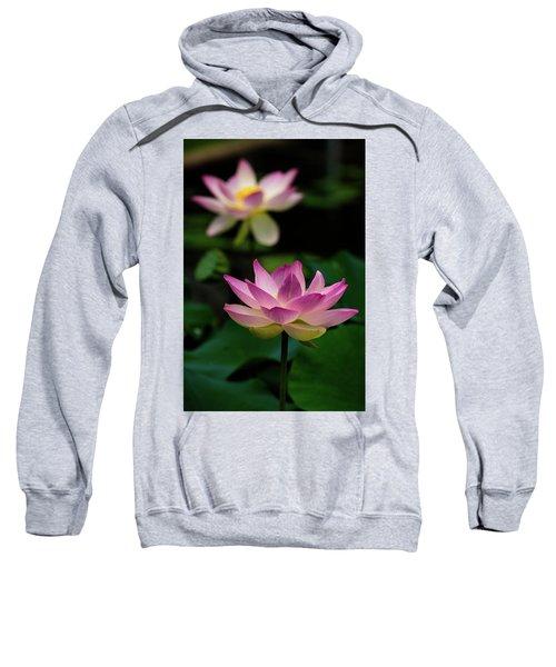 Full Blooming Dual Lotus Lilies Sweatshirt