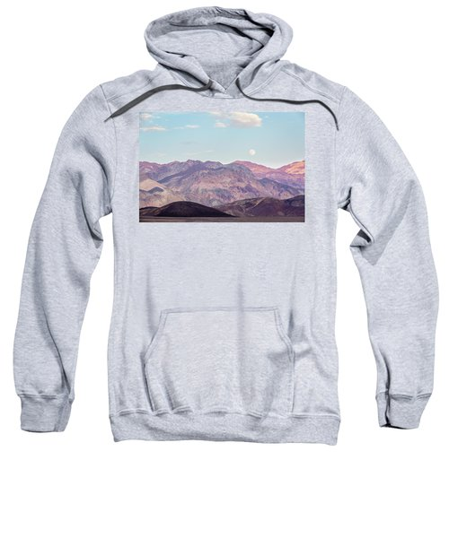 Full Moon Over Artists Palette Sweatshirt